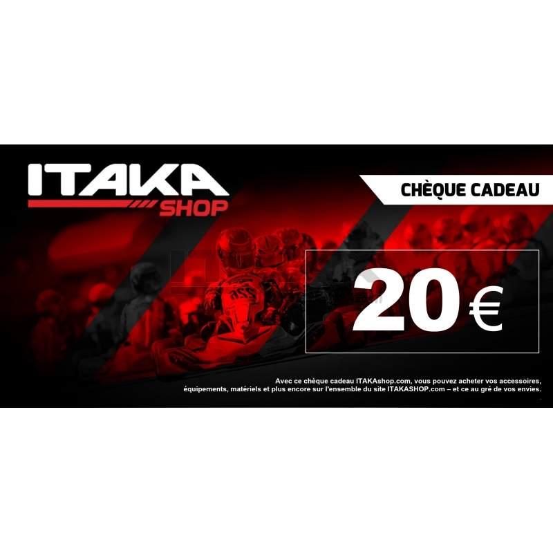 CHEQUE CADEAU 20 EUROS TTC