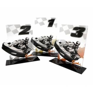 KARTING TROPHY - SET OF 3