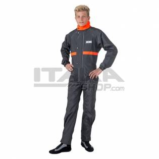 BLACK/ORANGE BOX'S RAIN SUIT