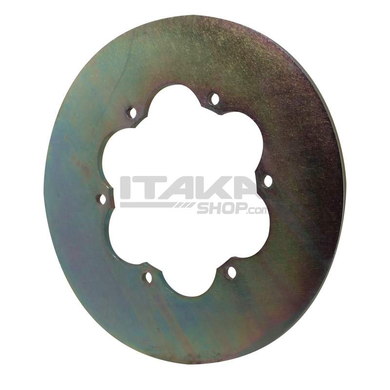 205 MM MECHANICAL REAR BRAKE DISK