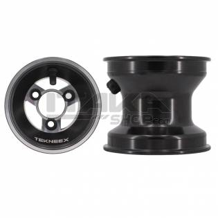ALU 115 BLACK FRONT WHEEL RIM (HUB)