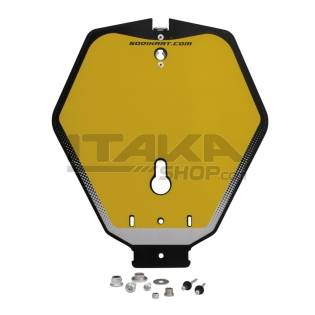 QUICK REMOVABLE TRANSPONDER NUMBER PLATE