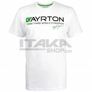 AYRTON SENNA T-SHIRT BRASIL CHAMPION