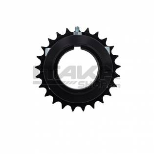 125CC ALU ERGAL REAR SPROCKET-1MM OF SPACE