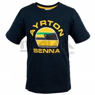 AYRTON SENNA T-SHIRT RACING KID