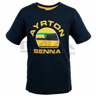 T-SHIRT AYRTON SENNA RACING KID