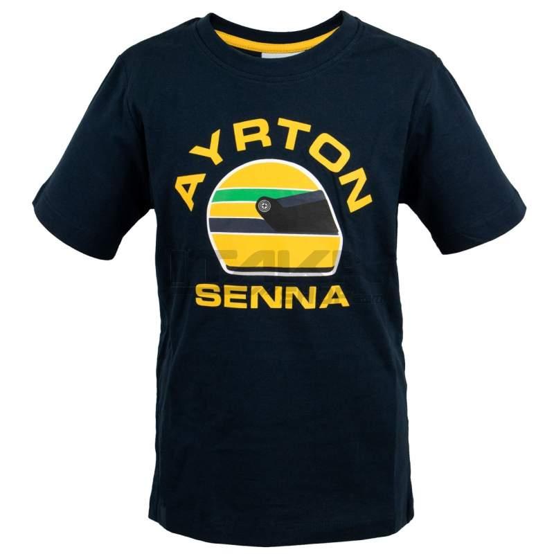 T-SHIRT AYRTON SENNA RACING KID