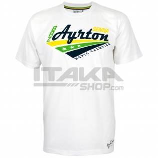 T-SHIRT AYRTON SENNA WORLD CHAMPION