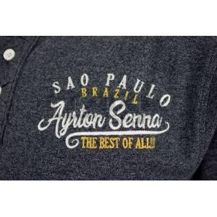 AYRTON SENNA SAO PAULO POLO SHIRT