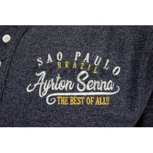 SWEAT SHIRT AYRTON SENNA RACING II