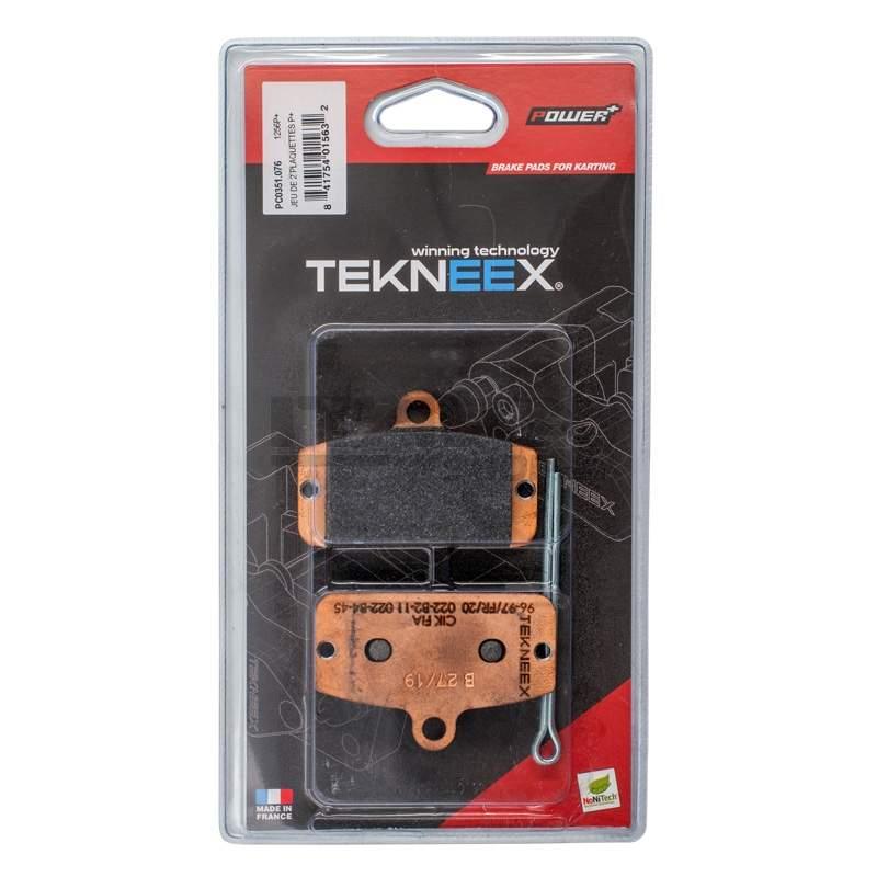 REAR BRAKE PADS P+ TEKNEEX 4 PISTONS CALIPER D20