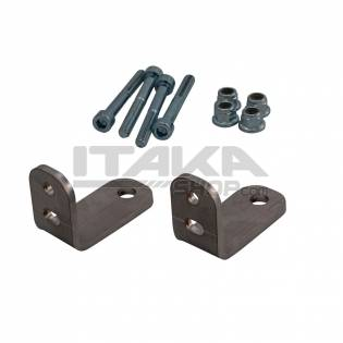 SET OF 2 FRONT SEAT BRACKET