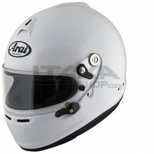 GP6-S ARAI HELMET WITH HANS CLIPS