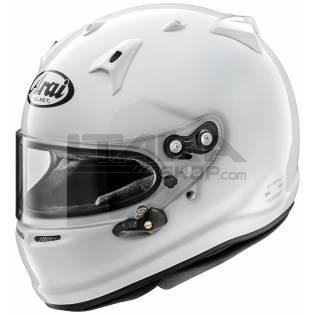 GP7 ARAI HELMET WITH HANS CLIPS