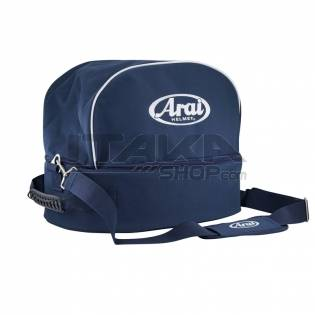 ARAI HELMET AND HANS BAG