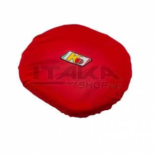 KG RED STEERING WHEEL COVER