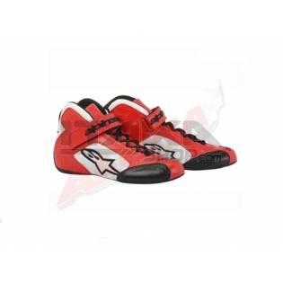 ALPINESTARS TECH 1-K SHOES RED / WHITE