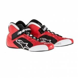 ALPINESTARS TECH 1-K SHOES RED/BLACK