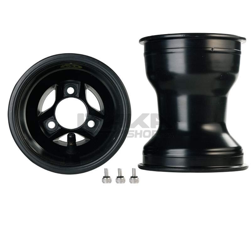 ALU 150 T6 BLACK REAR WHEEL RIM