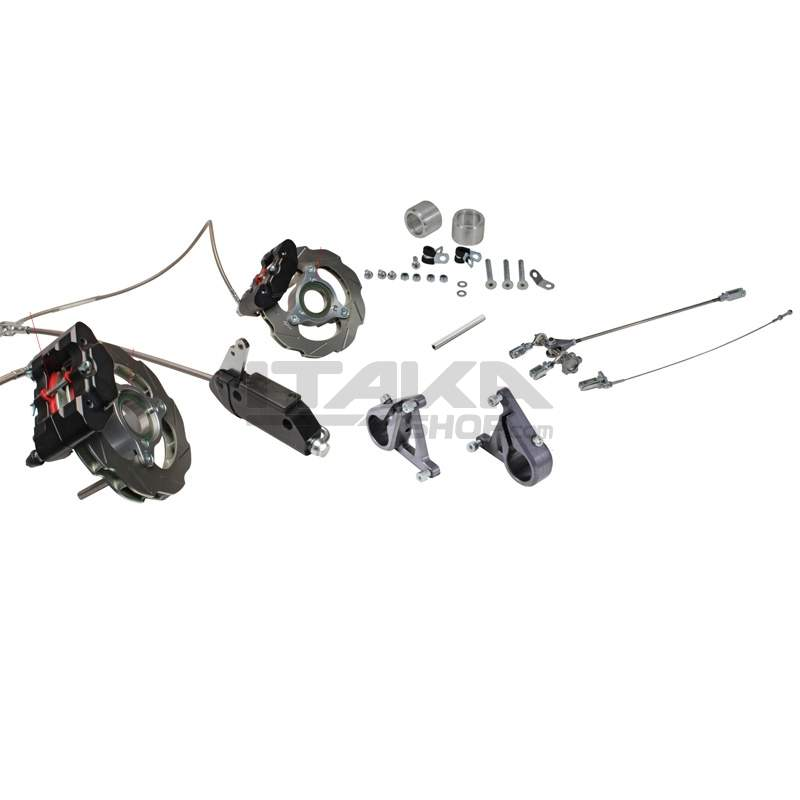 PEDAL-OPERATED FRONT BRAKE KIT