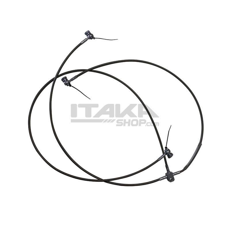BRAKE SAFETY CABLE WITH CONNECTOR