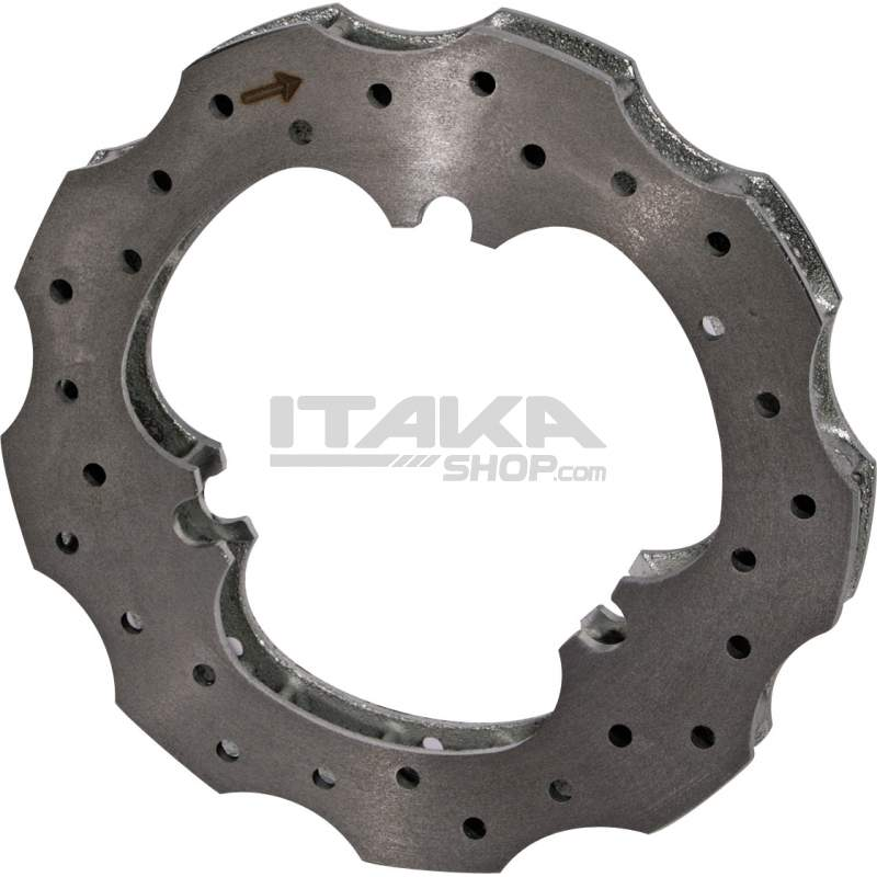 140 DIAMETER VENTILATED BRAKE DISK