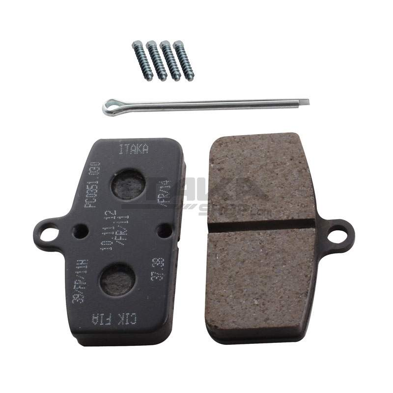 BRAKE PADS FOR MECHANICAL CALIPERS