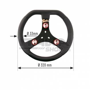 SODI FUN RENTAL STEERING WHEEL