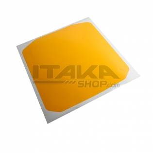 YELLOW SELF-ADHESIVE FRONT PANEL
