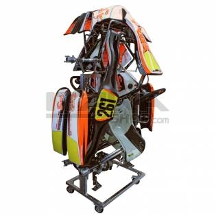 DOUBLE RANGE KART VERTICAL