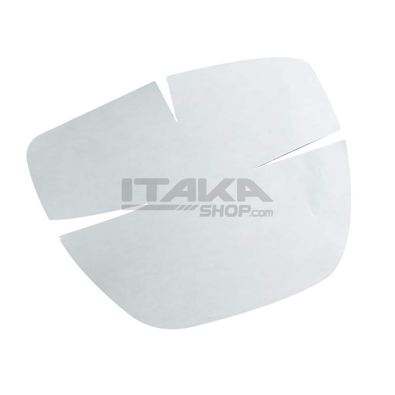 METAL AND ADHESIVE NUMBER PLATE