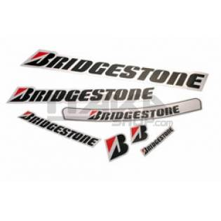 BRIDGESTONE STICKER FOR VISOR