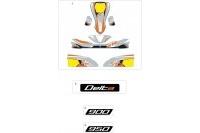 STICKERS DE CARROSSERIE - SODI DELTA 900/950 2012-2013