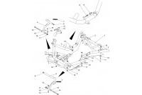CADRE-PLANCHER-PEDALES - SODI DELTA 900 FR 2012-2017
