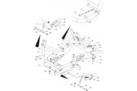 PLANCHER- PEDALES - SODI DELTA 900/950 2014 - 2017