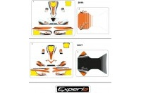 BODYWORK STICKERS - SODI EXPERIA