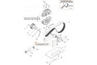 BELT TRANSMISSION GX200/270 - SODI GT4-R
