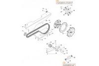 TRANSMISSION CHAINE GX390 - SODI GT5-R
