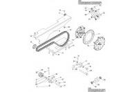TRANSMISSION CHAINE GX390 - SODI GT5