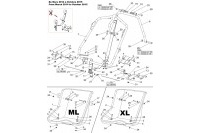 ML & XL ADJUSTABLE SEAT - SODI LR5