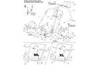 ML & XL ADJUSTABLE SEAT - SODI LRX