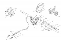 REAR MECHANICAL BRAKE - SODI MINI OTHER COUNTRIES