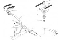 EXHAUST SUPPORT - SODI MINI OTHER COUNTRIES