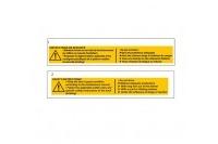 SAFETY STICKERS - SODI MINI FRANCE
