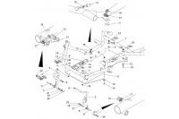 CADRE-PLANCHER-PEDALES - SODI NORDICA 2012-2013