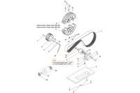 BELT TRANSMISSION GX200/270 - SODI RT8 V2