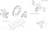 HYDRAULIC BRAKE- REAR AXLE D40 - SODI RX7 MAX
