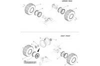 OPTION PNEUMATIQUES CLOUTES - SODI RX7