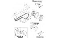 CHAIN TRANSMISSION GX390 - SODI RX8