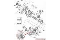 CARTER-VILO-POMPE A EAU-PISTON - ROTAX 125 DD2 EVO